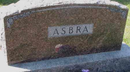 ASBRA, PLOT - Cedar County, Nebraska | PLOT ASBRA - Nebraska Gravestone Photos