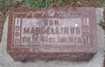 ASBRE, MARCELLINUS - Cedar County, Nebraska | MARCELLINUS ASBRE - Nebraska Gravestone Photos