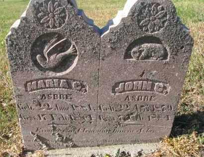 ASBRE, MARIA C. - Cedar County, Nebraska | MARIA C. ASBRE - Nebraska Gravestone Photos