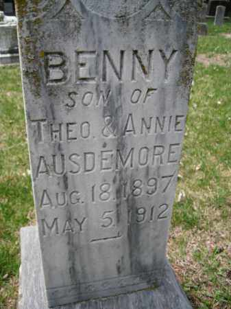 AUSDEMORE, BENNY - Cedar County, Nebraska | BENNY AUSDEMORE - Nebraska Gravestone Photos