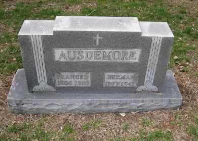 AUSDEMORE, HERMAN - Cedar County, Nebraska | HERMAN AUSDEMORE - Nebraska Gravestone Photos