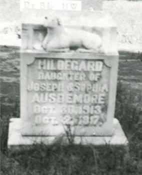 AUSDEMORE, HILDEGARD - Cedar County, Nebraska | HILDEGARD AUSDEMORE - Nebraska Gravestone Photos