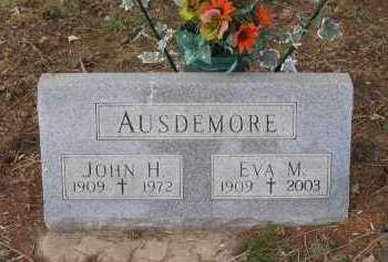 AUSDEMORE, EVA M. - Cedar County, Nebraska | EVA M. AUSDEMORE - Nebraska Gravestone Photos
