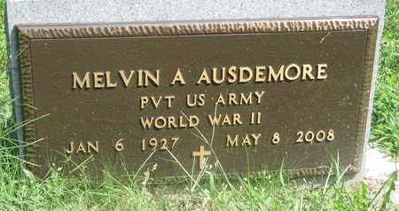 AUSDEMORE, MELVIN (WW II) - Cedar County, Nebraska   MELVIN (WW II) AUSDEMORE - Nebraska Gravestone Photos