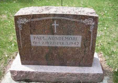 AUSDEMORE, PAUL - Cedar County, Nebraska | PAUL AUSDEMORE - Nebraska Gravestone Photos