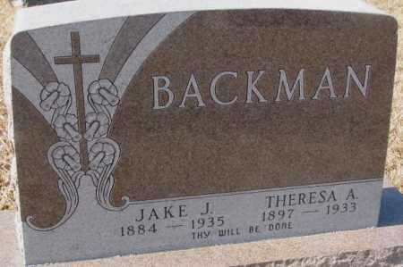 BACHMAN, JAKE J. - Cedar County, Nebraska | JAKE J. BACHMAN - Nebraska Gravestone Photos