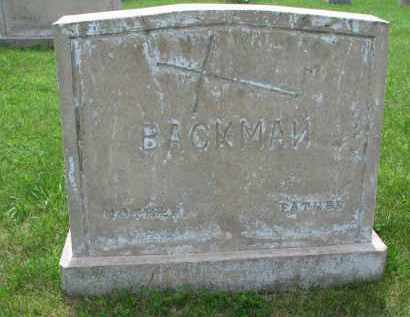BACKMAN, FATHER - Cedar County, Nebraska | FATHER BACKMAN - Nebraska Gravestone Photos