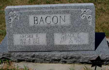 BACON, GRACE E. - Cedar County, Nebraska | GRACE E. BACON - Nebraska Gravestone Photos
