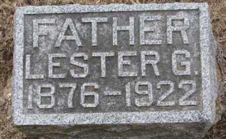 BALLINGER, LESTER G. - Cedar County, Nebraska   LESTER G. BALLINGER - Nebraska Gravestone Photos