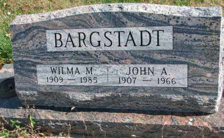 BARGSTADT, JOHN A. - Cedar County, Nebraska | JOHN A. BARGSTADT - Nebraska Gravestone Photos