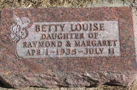 BARNES, BETTY LOUISE - Cedar County, Nebraska | BETTY LOUISE BARNES - Nebraska Gravestone Photos