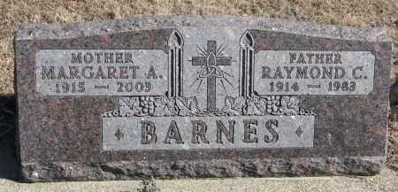 BARNES, MARGARET A. - Cedar County, Nebraska | MARGARET A. BARNES - Nebraska Gravestone Photos