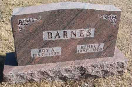 BARNES, ROY A. - Cedar County, Nebraska | ROY A. BARNES - Nebraska Gravestone Photos