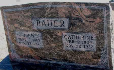 BAUER, CATHERINE - Cedar County, Nebraska | CATHERINE BAUER - Nebraska Gravestone Photos