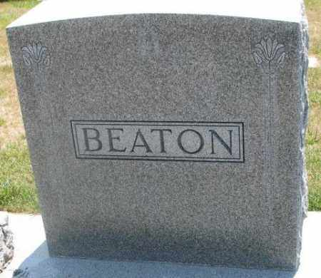 BEATON, PLOT - Cedar County, Nebraska | PLOT BEATON - Nebraska Gravestone Photos