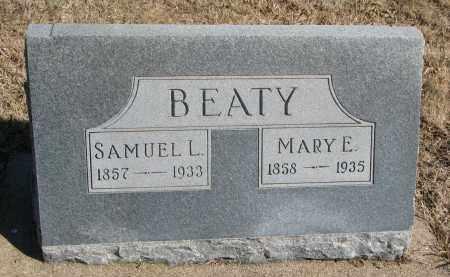 BEATY, MARY E. - Cedar County, Nebraska | MARY E. BEATY - Nebraska Gravestone Photos