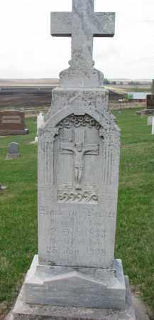 BECKER, BARBARA - Cedar County, Nebraska | BARBARA BECKER - Nebraska Gravestone Photos