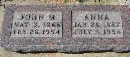 BECKER, ANNA - Cedar County, Nebraska   ANNA BECKER - Nebraska Gravestone Photos