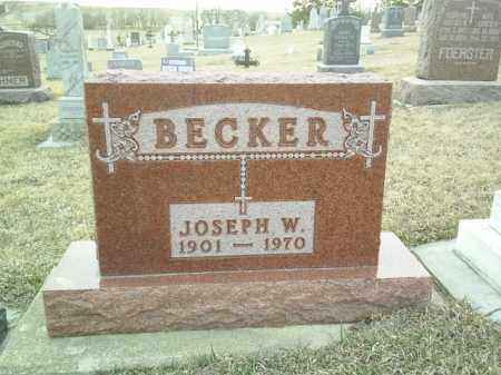 BECKER, JOSEPH - Cedar County, Nebraska | JOSEPH BECKER - Nebraska Gravestone Photos