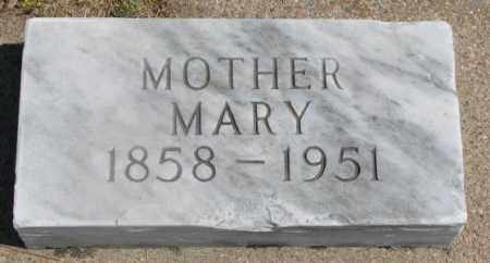 BECKER, MARY - Cedar County, Nebraska | MARY BECKER - Nebraska Gravestone Photos