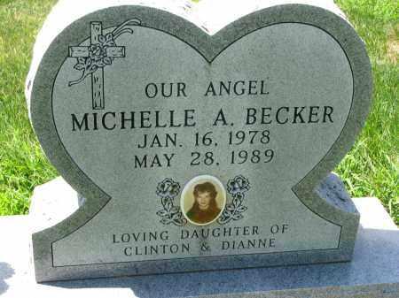 BECKER, MICHELLE A. - Cedar County, Nebraska | MICHELLE A. BECKER - Nebraska Gravestone Photos