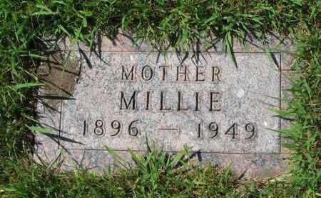 BECKER, MILLIE - Cedar County, Nebraska | MILLIE BECKER - Nebraska Gravestone Photos