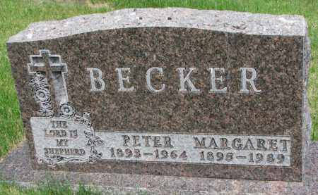 BECKER, MARGARET - Cedar County, Nebraska | MARGARET BECKER - Nebraska Gravestone Photos
