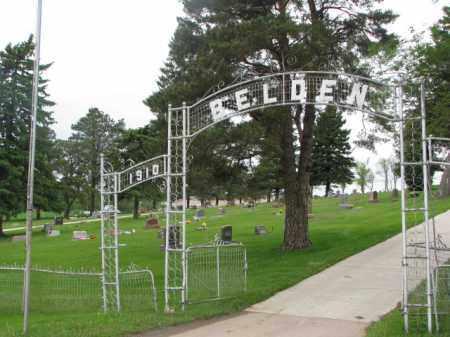 **BELDEN, OVERVIEW - Cedar County, Nebraska   OVERVIEW **BELDEN - Nebraska Gravestone Photos