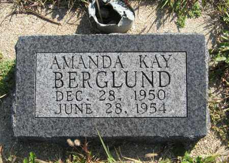 BERGLUND, AMANDA KAY - Cedar County, Nebraska | AMANDA KAY BERGLUND - Nebraska Gravestone Photos
