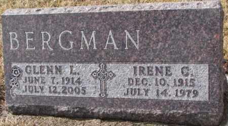 BERGMAN, IRENE C. - Cedar County, Nebraska | IRENE C. BERGMAN - Nebraska Gravestone Photos