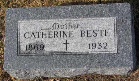 BESTE, CATHERINE - Cedar County, Nebraska | CATHERINE BESTE - Nebraska Gravestone Photos