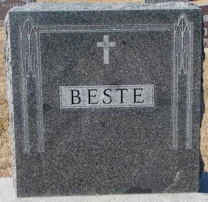 BESTE, PLOT - Cedar County, Nebraska | PLOT BESTE - Nebraska Gravestone Photos
