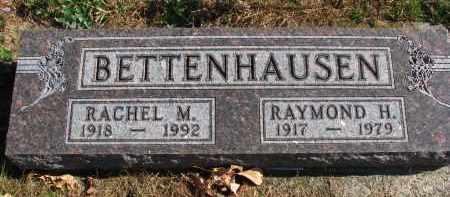 BETTENHAUSEN, RAYMOND H. - Cedar County, Nebraska   RAYMOND H. BETTENHAUSEN - Nebraska Gravestone Photos
