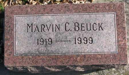 BEUCK, MARVIN C. - Cedar County, Nebraska | MARVIN C. BEUCK - Nebraska Gravestone Photos
