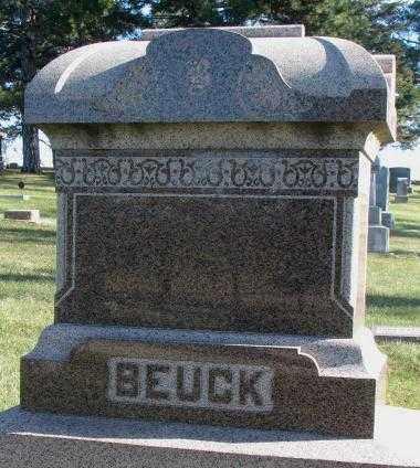 BEUCK, PLOT - Cedar County, Nebraska | PLOT BEUCK - Nebraska Gravestone Photos