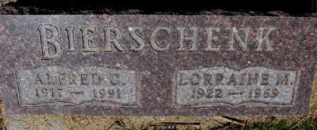 BIERSCHENK, LORRAINE M. - Cedar County, Nebraska | LORRAINE M. BIERSCHENK - Nebraska Gravestone Photos