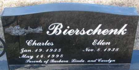 BIERSCHENK, ELLEN - Cedar County, Nebraska | ELLEN BIERSCHENK - Nebraska Gravestone Photos