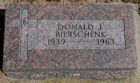 BIERSCHENK, DONALD J. - Cedar County, Nebraska   DONALD J. BIERSCHENK - Nebraska Gravestone Photos