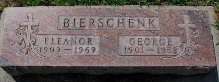 BIERSCHENK, ELEANOR - Cedar County, Nebraska   ELEANOR BIERSCHENK - Nebraska Gravestone Photos