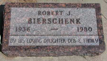 BIERSCHENK, ROBERT J. - Cedar County, Nebraska | ROBERT J. BIERSCHENK - Nebraska Gravestone Photos