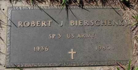 BIERSCHENK, ROBERT J. (MILITARY) - Cedar County, Nebraska | ROBERT J. (MILITARY) BIERSCHENK - Nebraska Gravestone Photos