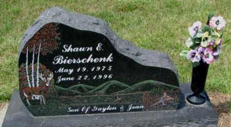 BIERSCHENK, SHAWN E. - Cedar County, Nebraska | SHAWN E. BIERSCHENK - Nebraska Gravestone Photos