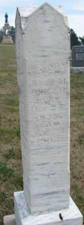 BINGER, JOHN H. - Cedar County, Nebraska   JOHN H. BINGER - Nebraska Gravestone Photos