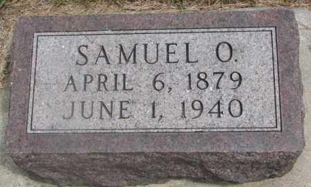 BLACK, SAMUEL O. - Cedar County, Nebraska   SAMUEL O. BLACK - Nebraska Gravestone Photos