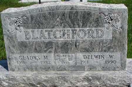 BLATCHFORD, DELWIN W. - Cedar County, Nebraska   DELWIN W. BLATCHFORD - Nebraska Gravestone Photos