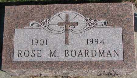 BOARDMAN, ROSE M. - Cedar County, Nebraska | ROSE M. BOARDMAN - Nebraska Gravestone Photos