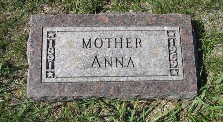 BOBENMOYER, ANNA - Cedar County, Nebraska   ANNA BOBENMOYER - Nebraska Gravestone Photos
