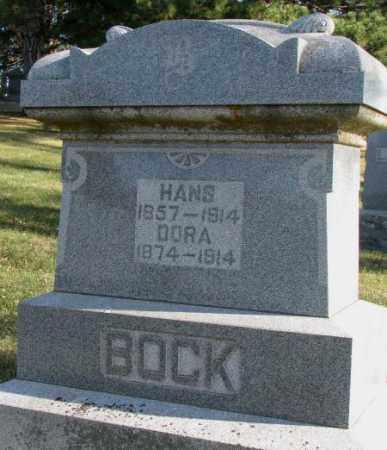 BOCK, DORA - Cedar County, Nebraska | DORA BOCK - Nebraska Gravestone Photos