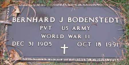 BODENSTEDT, BERNHARD J. (WWII MARKER) - Cedar County, Nebraska | BERNHARD J. (WWII MARKER) BODENSTEDT - Nebraska Gravestone Photos