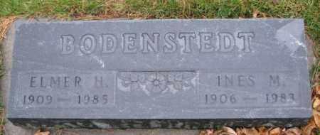 BODENSTEDT, ELMER H. - Cedar County, Nebraska | ELMER H. BODENSTEDT - Nebraska Gravestone Photos